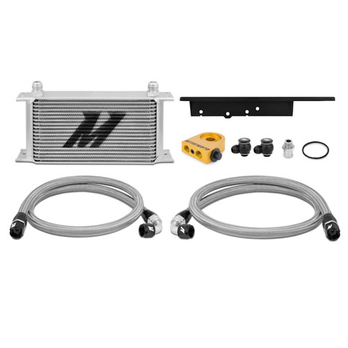 Mishimoto 03-09 Nissan 350Z / 03-07 Infiniti G35 (Coupe Only) Oil Cooler Kit - Thermostatic