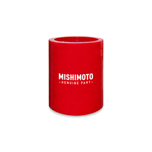 Mishimoto 3.5 Inch Straight Coupler - Red