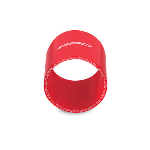 Mishimoto 3.0 Inch Red Straight Coupler