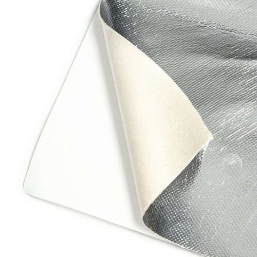 Mishimoto Aluminum Silica Heat Barrier W/ Adhesive Backing, 12in x 24in