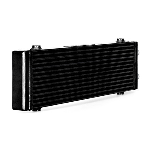 Mishimoto Universal Large Bar and Plate Dual Pass Black Oil Cooler