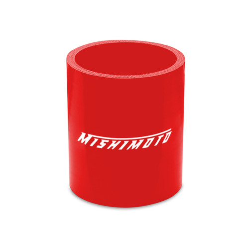 Mishimoto 2.25 Inch Red Straight Coupler