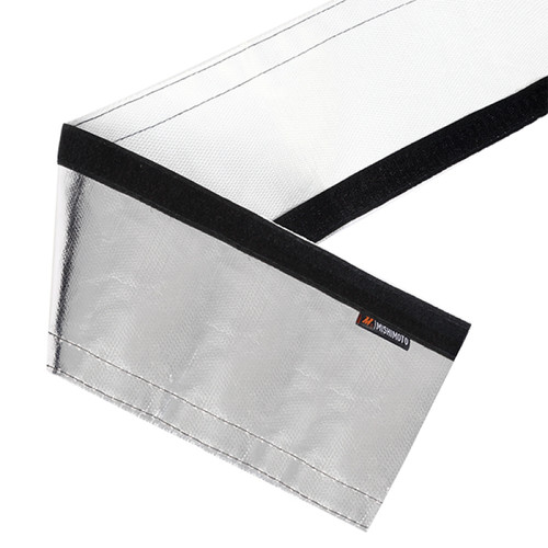 Mishimoto Heat Shielding Sleeve Silver 1 Inch x 36 Inches