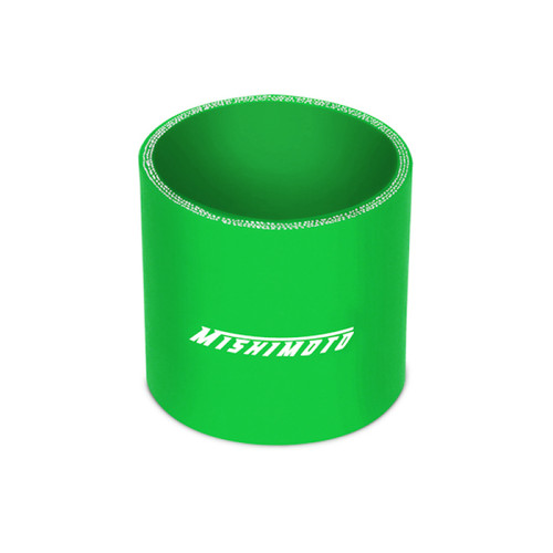 Mishimoto 2.5in. Straight Coupler Green