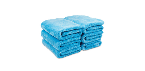 Griots Garage Microfiber Plush Edgeless Towels (Set of 6)
