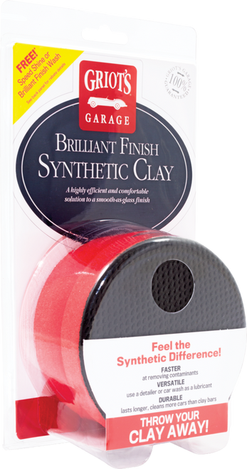 Griots Garage Brilliant Finish Synthetic Clay
