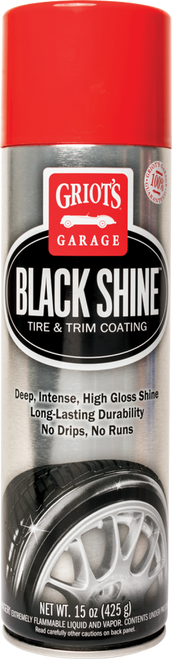 Griots Garage Black Shine Tire and Trim Coating - 15oz