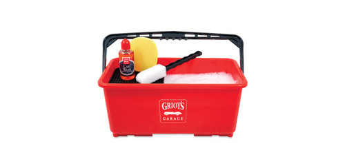 Griots Garage Ultimate Wash Bucket w/Casters & Lid