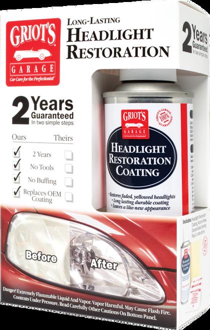 Griots Garage Headlight Restoration Kit