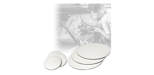 Griots Garage 6in Glass Polishing Pads (Set of 3)