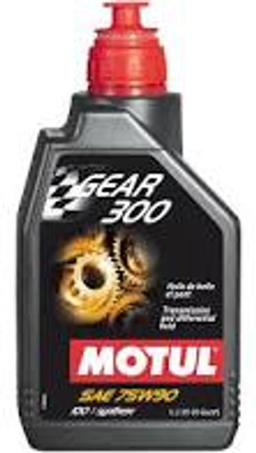 Motul 1L Transmission Gear 300 75W90 - Synthetic Ester