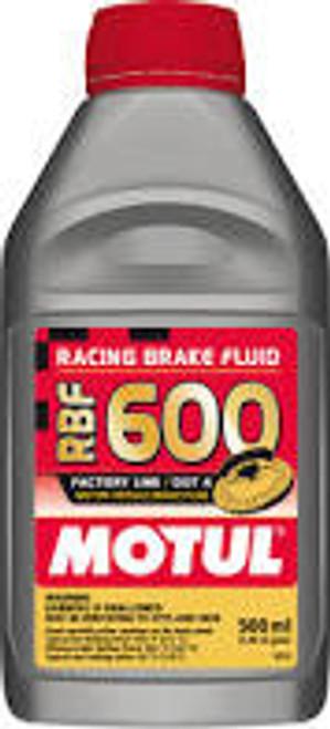 Motul 1/2L Brake Fluid RBF 600 - Racing DOT 4