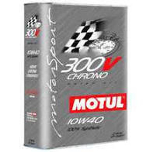 Motul 2L Synthetic-ester Racing Oil 300V CHRONO 10W40