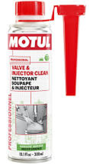 Motul 300ml Valve and Injector Clean Additive