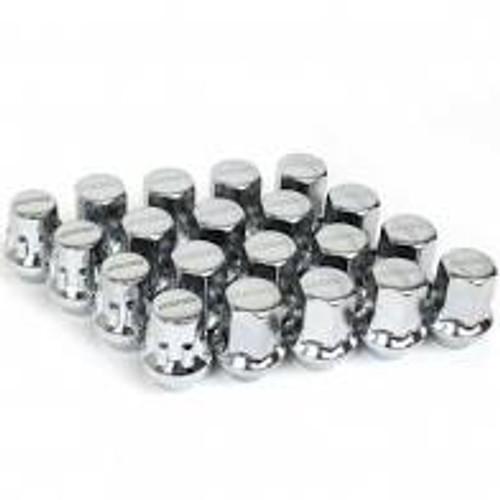 Rays M12x1.25 5 Holes 16pcs Nut, 4pcs Lock Nut, 1 Adapter & 1 Lock Nut Key - Chrome