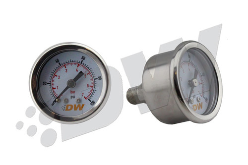 DeatschWerks 0-100 PSI 1/8in NPT Mechanical Fuel Pressure Gauge
