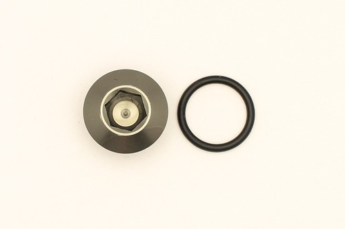 DeatschWerks 8AN ORB Male Plug Low Profile Internal Allen/Hex (Includes O-Ring)