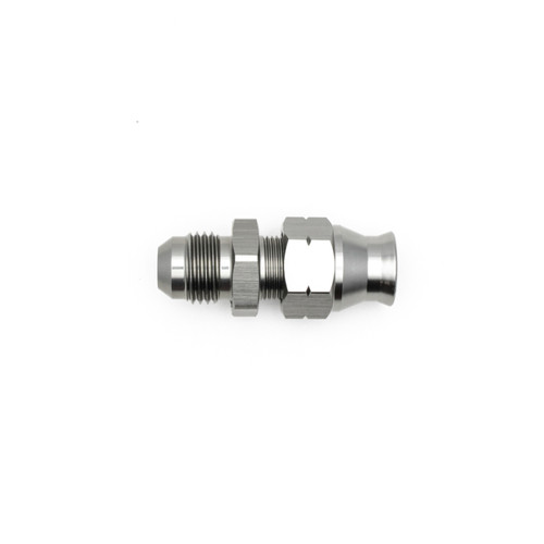 "DeatschWerks 6AN Male Flare to 5/16"" Hardline Compression Adapter (Includes 1 Olive Insert)"