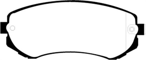 EBC 89-94 Nissan Skyline (R32) 1.8 Redstuff Front Brake Pads