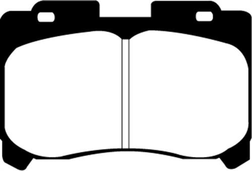EBC 93-98 Toyota Supra 3.0 Twin Turbo Redstuff Front Brake Pads