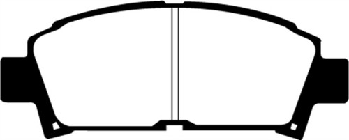 EBC 93-95 Toyota MR2 2.0 Turbo Redstuff Front Brake Pads
