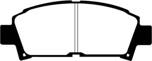 EBC 93-95 Toyota MR2 2.0 Turbo Yellowstuff Front Brake Pads