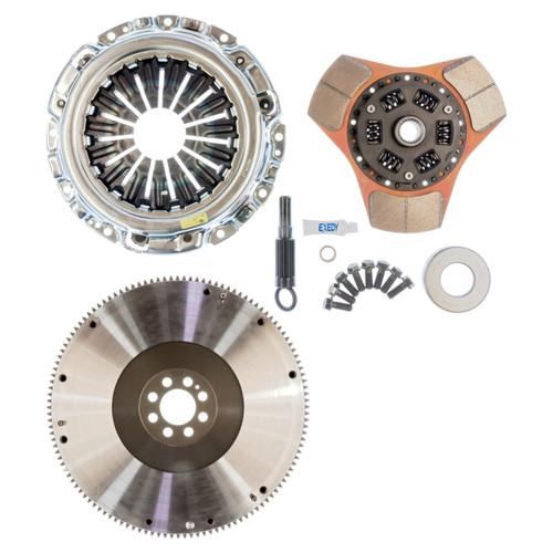 Exedy 2003-2007 Infiniti G35 V6 Stage 2 Cerametallic Clutch Thick Disc Includes NF04 Flywheel