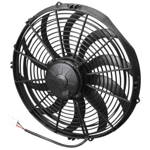 SPAL 1652 CFM 14 inch High Performance Fan - Pull / Curved
