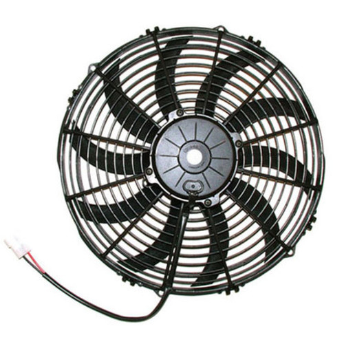 SPAL 1682 CFM 13 inch High Performance Fan - Push / Curved