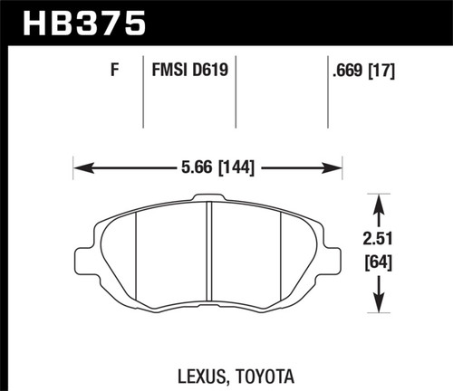 Hawk 93-05 Lexus GS300 / 98-00 GS400 / 93-98 Toyota Supra