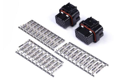 Haltech AMP 26 & 34 Pin 4 Row 3 Keyway Superseal Connector Set Plug & Pins