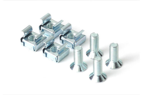 Haltech Platinum ECU Rail-Type Mounts & Screws - (Pack of 4)