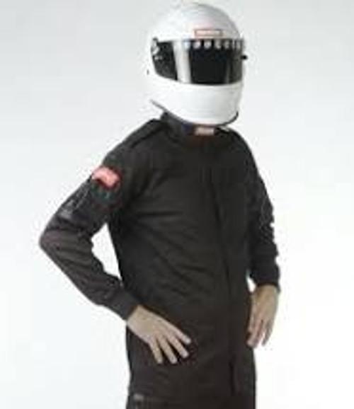 RaceQuip Black SFI-1 1-L Jacket - Small