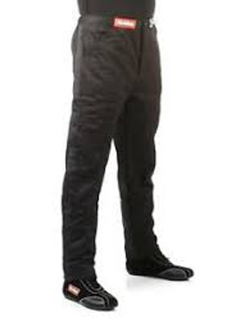 RaceQuip Black SFI-1 1-L Pants Medium Tall