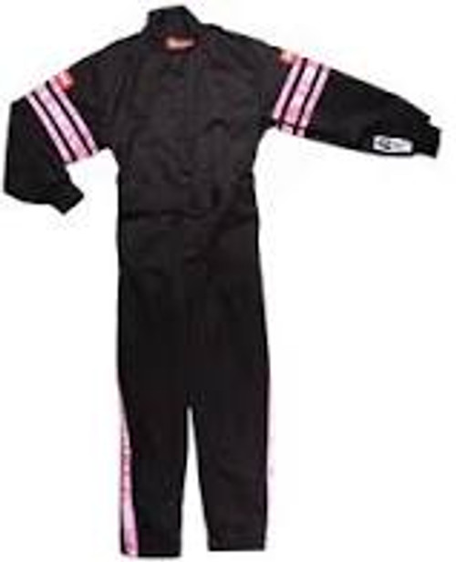 RaceQuip Pink Trim SFI-1 JR. Suit - KXXL