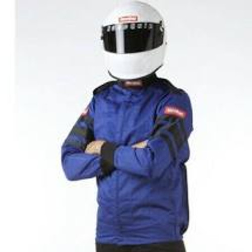RaceQuip Blue SFI-1 1-L Jacket - Small