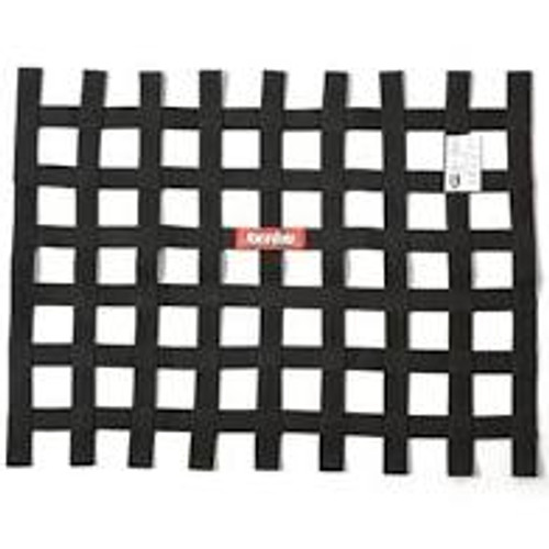 RaceQuip Black 18 X 18 SFI Ribbon Net