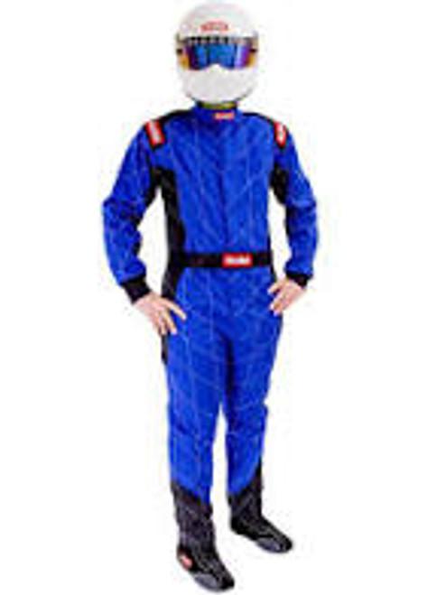 RaceQuip Blue SFI-1 1-L Suit - 2XL