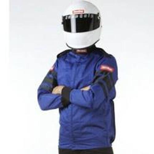 RaceQuip Blue SFI-1 1-L Jacket - 2XL