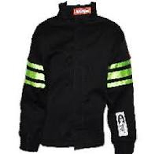 RaceQuip Green Trim SFI-1 JR. Jacket - KLarge