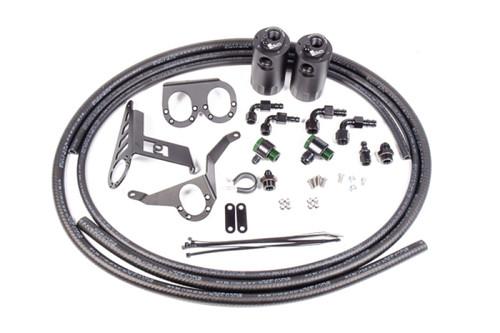 Radium Engineering Toyota Supra MKIV VTE Dual Catch Can Kit