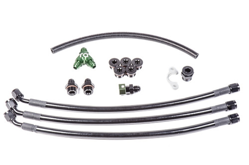 Radium Engineering Nissan VQ35DE Fuel Rail Plumbing Kit