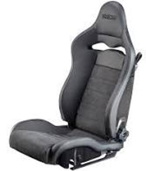 Sparco Seat SPX Leather/Alcantara Black - Left