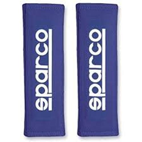 Sparco Belt Pad 3In Blue Racing