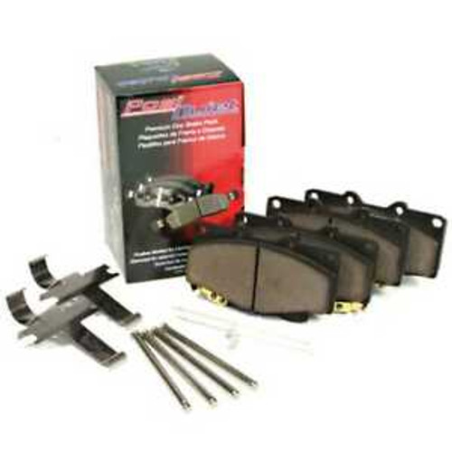 PosiQuiet 89-96 Nissan 300ZX Semi-Metallic Rear Brake Pads