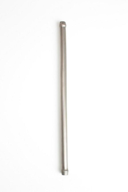 Ticon Industries 12in Length x 1/2in OD Titanium Hollow Mushroom Hanger Rod - Double Ended