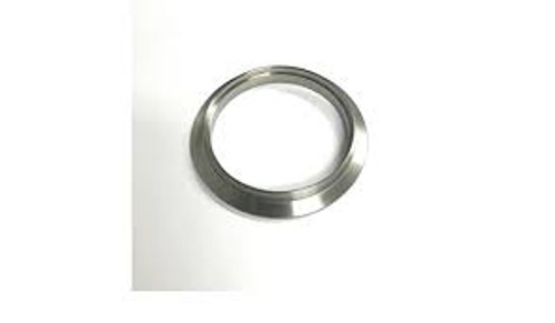 Ticon Industries 4in Titanium V-Band Weld End - Male