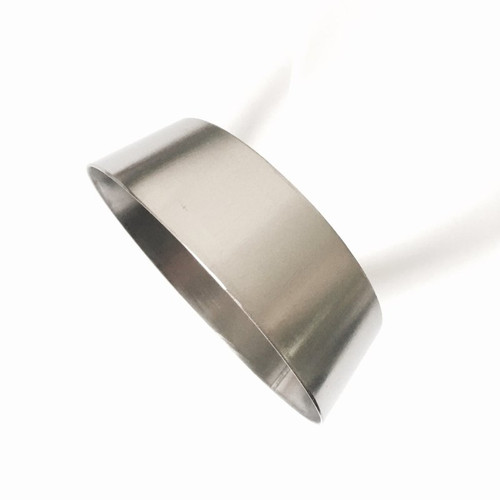 Ticon Industries 1-3/16in OAL 3.5in to 4.0in Titanium Transition Reducer Cone