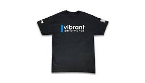 Vibrant Performance Logo S/S T-Shirt Black - Large
