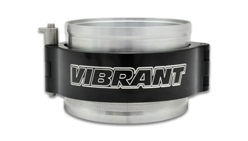 Vibrant 2.5in HD Clamp System Assembly - Anodized Black